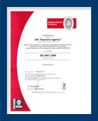 ISO9001 and MLC2006 certificate